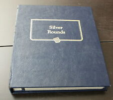 Whitman Silver Rounds Coin Album *H745
