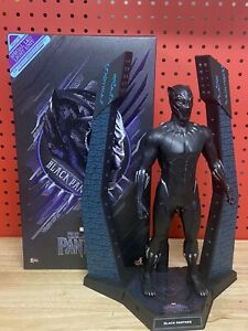 Hot Toys 1/6 Black Panther MMS470 PRE-OWNED USED read description