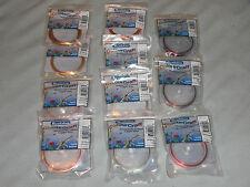11 packs Beadalon Colourcraft Wire Assortment, 26 Gauge, 30 Yards per roll.