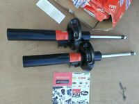 TRW JGM786T Front Shock Absorber pair x2 VolkswagenGOLF MK6 MK5 JETTA 1K0413031