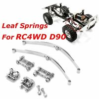 RC Scale 1/10 Leaf Springs Set for Crawlers RC4WD HighLift Chassis Silver