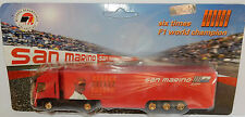 GRELL HO 1/87 CAMION TRUCK TRAILER IVECO STRALIS SAN MARIN F1 2004 SCHUMACHER