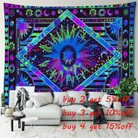 Hippie Wall Hanging Mandala Tapestry Indian Boho Celestial Sun Background cloth