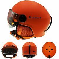 Ski Helmet Goggles Winter Sports Snowmobile Skiing Snowboard Safe Head Protector