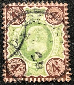 Great Britain Stamp #133a Used 1902-11