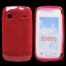 Custodia in TPU Bulk Red/Rosso per Samsung S5660 Galaxy Gio