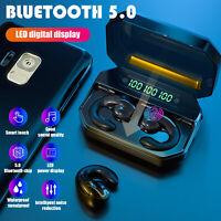 TWS Wireless Bluetooth Earbuds Bone Conduction Headset Earphone Sport Headphones