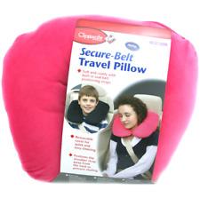 Pour Enfants Clippasafe Forme U Voyage Pillow Sûr Ceinture Rose Confortable Doux
