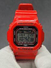 C asio G-Shock GLX-5600-4 G-Lide Tide Graph Moon Data Red Digital Watch