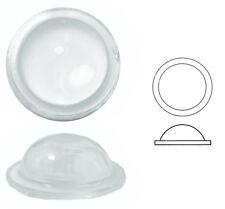 Bleiverglasungstein Bullauge glatt und extra hoch, Ø ca. 33 mm, h ca. 12 mm