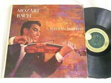 NATHAN MILSTEIN Mozart & Bach Violin Concertos Harry Blech Capitol FDS mono LP