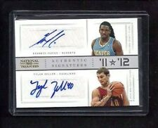 Kenneth Faried Tyler Zeller National Treasures DUAL AUTO #/25! NUGGETS! CELTICS!