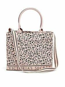 Victoria Secret Leopard Logo Tote Bag NWT Limited Edition Shopper Bag