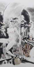 Villon les deux testaments curiosa Maurice Leroy 1944 1/28 avec suite + dessin