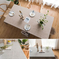 Kitchen Tablecloth Covers Polyester Home Dinner Table Cloth Covers Wedding Party