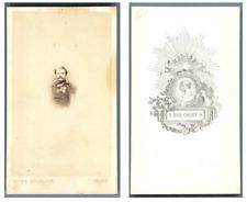 Hélios, Monsieur Ernest Boscary  CDV vintage albumen carte de visite,  Tirage