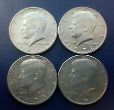 USA - 1971 72 73 74 Kennedy Half Dollar 4 Coins ( FREE S&H for Every Extra Lot )