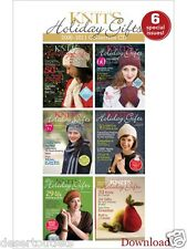 Knits Holiday Gifts 2006-2011 Collection CD 6 Special Issues! Patterns