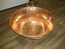 Mexican Pure Copper Pot for Carnitas, jam,candy, and more.Caso. 18 inches wide.