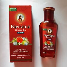 Navrathna Oil Ayurweda cool hair growth treatment all hair type natural 100ml