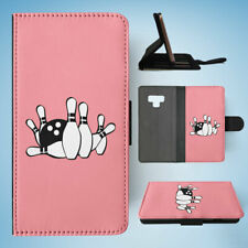 SAMSUNG GALAXY NOTE 9 FLIP CASE WALLET COVER|BOWLING 2