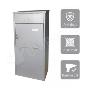 Parcel Letter box Letterbox Mail Post with Mailbox For Packages Drop Large Home