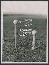 "1924 ""verstellbar golf tees"" golfausrüstungen innovation foto"