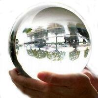 Clear Asian Rare Natural Quartz Magic Crystal Healing Ball Sphere 100mm + Stand