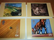 Farmers' Tale 7 September 1999 PHQ 211 set Royal Mail Stamp Card Series MINT