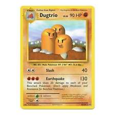4x Pokemon XY Evolutions Dugtrio 56/108  Rare Card
