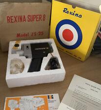 Vintage Rexina ZS-25 Cine Movie Camera - Super 8- Looks NEW- Retro Cameras