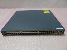 Cisco Catalyst Ws-C2975Gs-48Ps-L Gigabit Ethernet 48-Port Switch