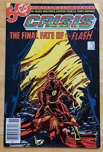 Crisis on Infinite Earths #8 (1985) DC Comics - Copper Age - Death of Flash