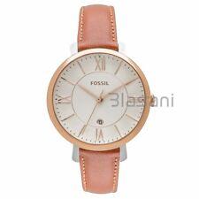Fossil Original ES3842 Women's Jacqueline Cedar Leather Watch 36mm