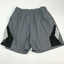 Highland Performance Shorts Mens 3X XXX Gray Black White Relaxed Workout Active