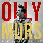 Olly Murs CD Album (2014) Never Been Better (Wrapped Up, Beautiful To Me, etc)