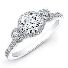 14k White Gold 1.82ct Moissanite Diamond Ring Engagement Rings 5441616