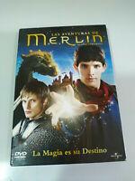 Las Aventuras de Merlin Primera Temporada Completa - 4 x DVD Español Ingles - 3T