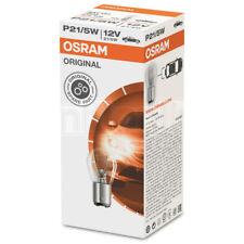 10 x Osram P21/5W Bombillas de coche de luz de Freno Cola de parada 380 12 V 21/5W Piezas Originales