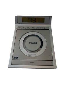 TIMEX T609T Nature Sounds AMFM Stereo Alarm Clock Radio CD MP3