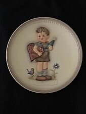 Mj Hummel Plate Valentine Joy Second Edition In Series Of Four 737