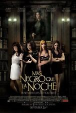MAS NEGRO QUE LA NOCHE MOVIE POSTER 2 Sided ORIGINAL 27x40 ZURIA VEGA