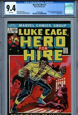 HERO FOR HIRE (1972) - #1 - ORIGIN & 1ST APPEARANCE OF LUKE CAGE!