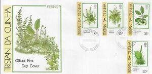 TRISTAN DA CUNHA 1989 FERNS FIRST DAY COVER