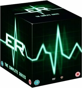 ER COMPLETE SERIES COLLECTION 1-15 GEORGE CLOONEY DVD BOX SET 93 DISC NEW&SEALED