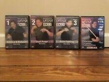 ADVANCED ESCRIMA SERIES (6) DVD Set eskrima box filipino martial arts weapons