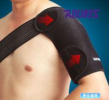 ADJUSTABLE Single Shoulder Support Arthritis Brace Posture Gym Back Sport Injury