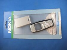 Original Nokia 6220 A Front Cover Front Cover Battery Cover Keyboard cc-53d Silver