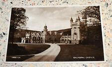 Vintage RP Postcard of Balmoral Castle - posted in 1932