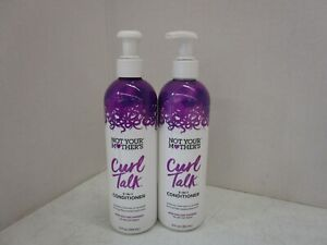 2 NOT YOUR MOTHER'S CURL TALK CURL 3-IN-1 CONDITIONER 12 FL OZ EACH MM 21121